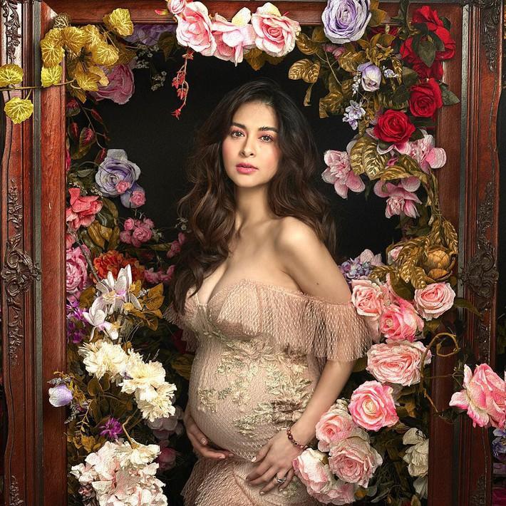 """""""Bà mẹ đẹp nhất Philippines"""" Marian Rivera chứng minh thần thái đỉnh cao trong bộ ảnh khoe bụng bầu 8 tháng - Ảnh 3."""