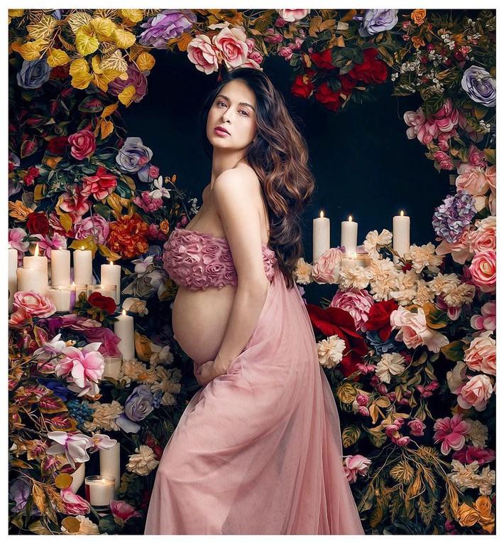 """""""Bà mẹ đẹp nhất Philippines"""" Marian Rivera chứng minh thần thái đỉnh cao trong bộ ảnh khoe bụng bầu 8 tháng - Ảnh 5."""