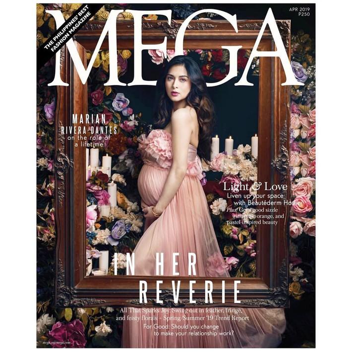 """""""Bà mẹ đẹp nhất Philippines"""" Marian Rivera chứng minh thần thái đỉnh cao trong bộ ảnh khoe bụng bầu 8 tháng - Ảnh 2."""