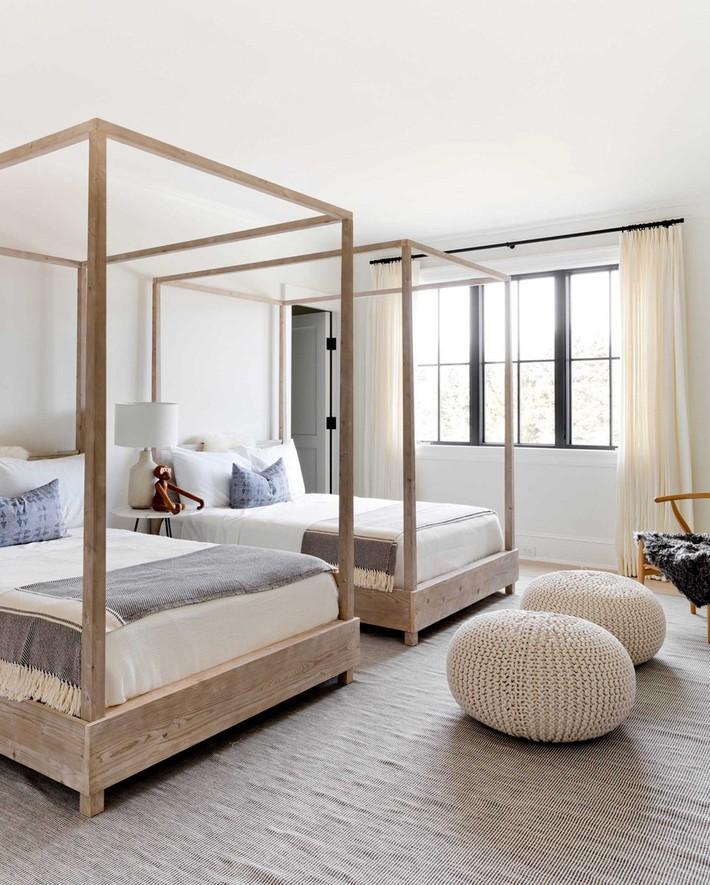10 thiết kế trang trí phòng ngủ dành cho nhà đông người đẹp tuyệt vời ai nhìn cũng thích mê - Ảnh 5.