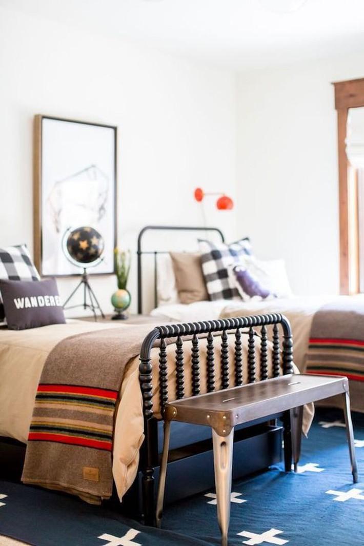 10 thiết kế trang trí phòng ngủ dành cho nhà đông người đẹp tuyệt vời ai nhìn cũng thích mê - Ảnh 6.