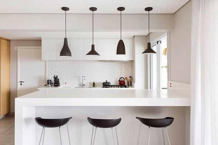 Nhỏ gọn và tiện dụng chỉ có thể là một căn bếp kiểu Mỹ - Ảnh 1.
