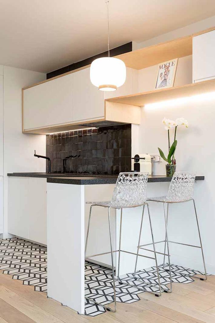 Nhỏ gọn và tiện dụng chỉ có thể là một căn bếp kiểu Mỹ - Ảnh 2.