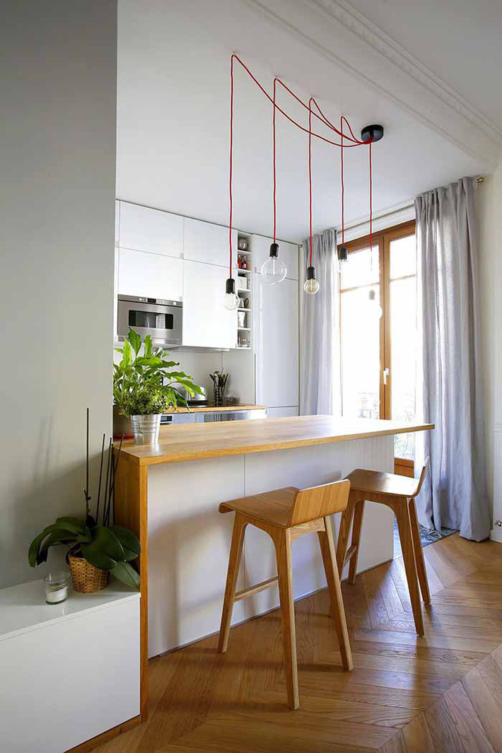 Nhỏ gọn và tiện dụng chỉ có thể là một căn bếp kiểu Mỹ - Ảnh 3.