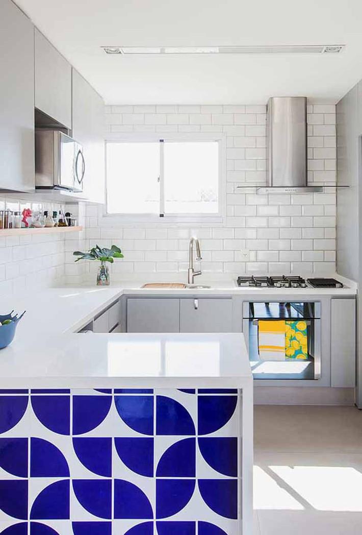 Nhỏ gọn và tiện dụng chỉ có thể là một căn bếp kiểu Mỹ - Ảnh 4.