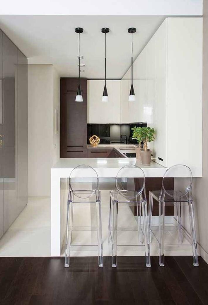 Nhỏ gọn và tiện dụng chỉ có thể là một căn bếp kiểu Mỹ - Ảnh 6.
