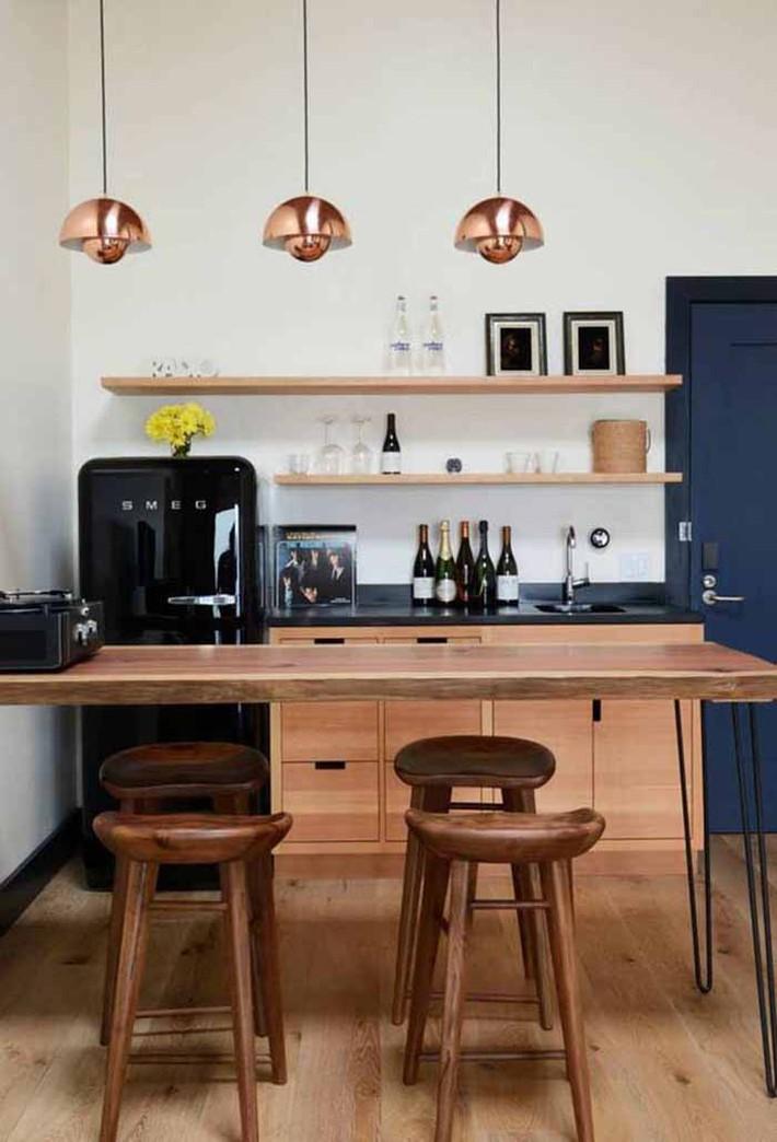 Nhỏ gọn và tiện dụng chỉ có thể là một căn bếp kiểu Mỹ - Ảnh 7.