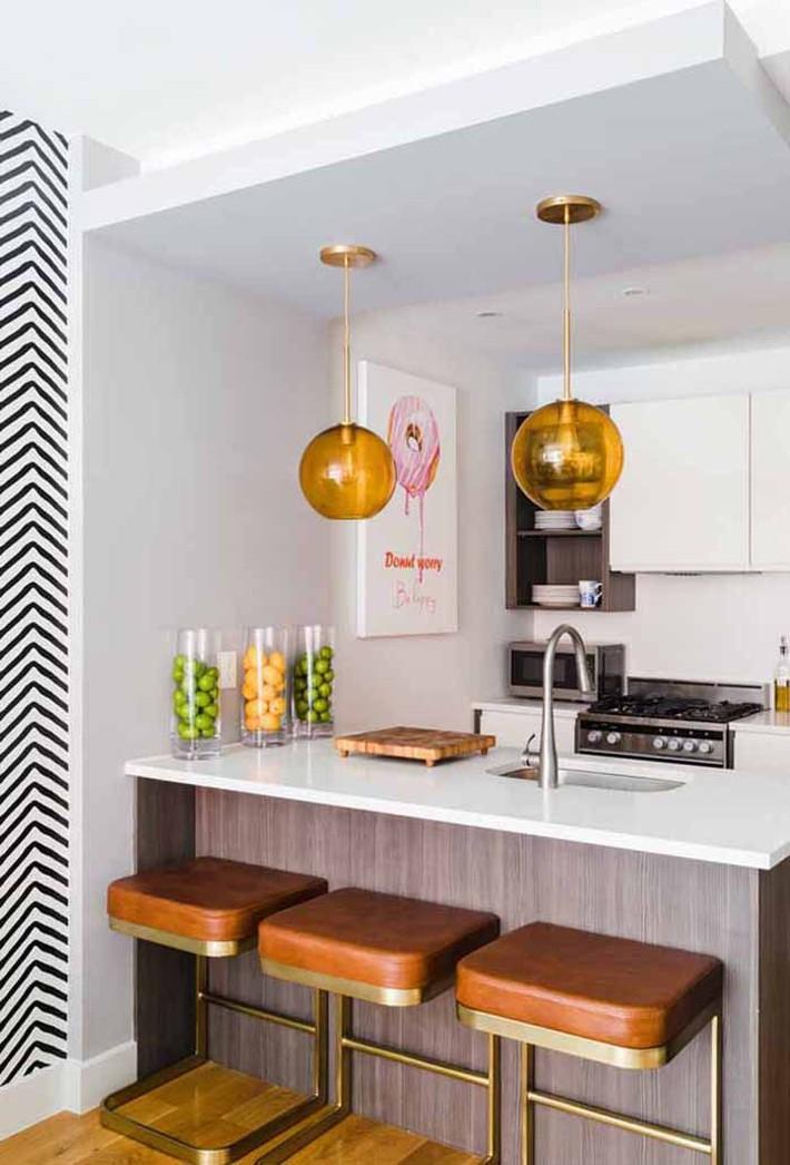 Nhỏ gọn và tiện dụng chỉ có thể là một căn bếp kiểu Mỹ - Ảnh 9.