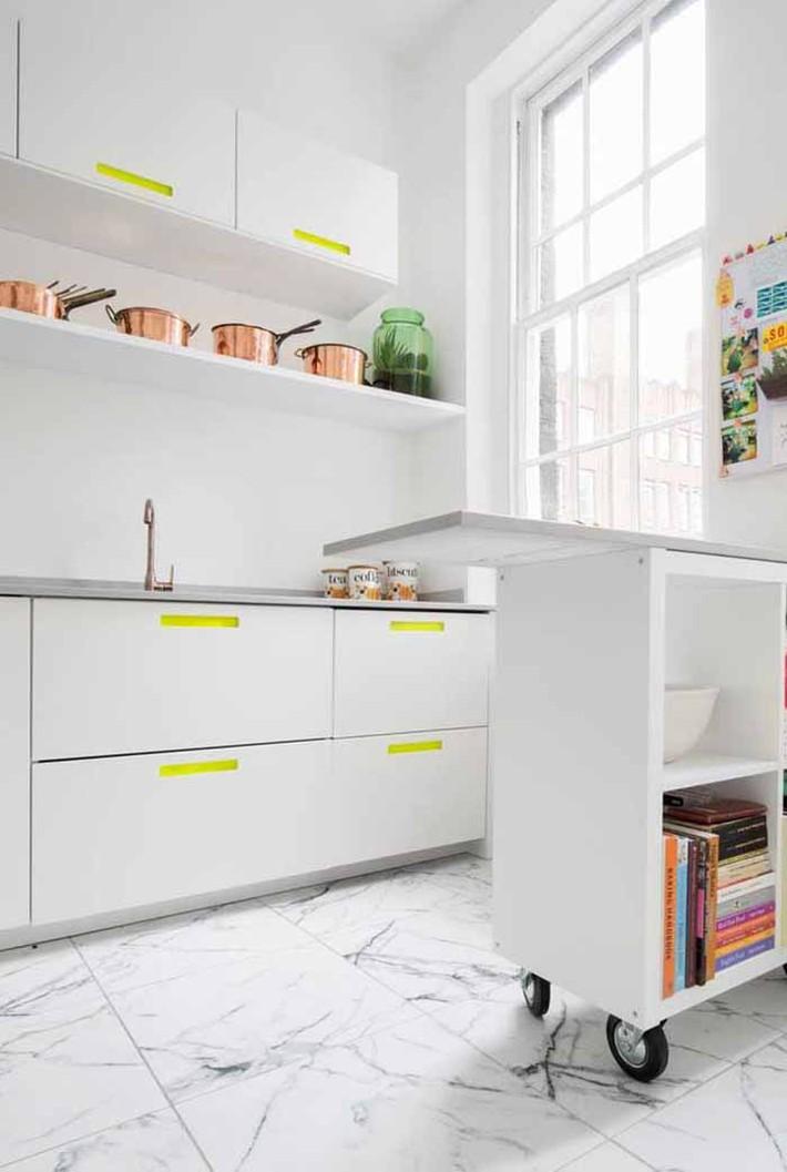 Nhỏ gọn và tiện dụng chỉ có thể là một căn bếp kiểu Mỹ - Ảnh 11.