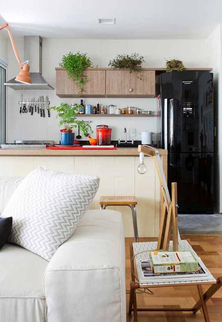 Nhỏ gọn và tiện dụng chỉ có thể là một căn bếp kiểu Mỹ - Ảnh 12.