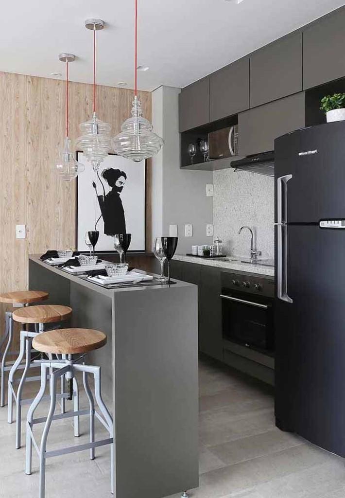 Nhỏ gọn và tiện dụng chỉ có thể là một căn bếp kiểu Mỹ - Ảnh 13.