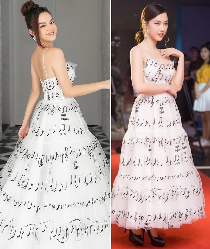 """Diện chung váy với Phạm Quỳnh Anh, Hoàng Oanh rất xinh nhưng vẫn """"mất điểm"""" vì một chi tiết - Ảnh 6."""