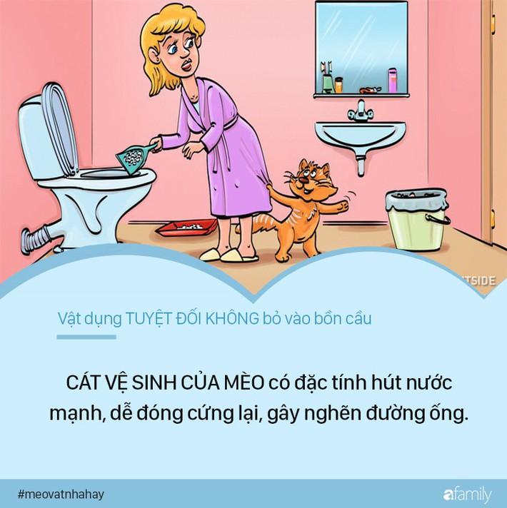 Mẹo vặt: 8 thứ tuyệt đối không được vứt vào bồn cầu vì cực kỳ nguy hiểm, nếu ngoan cố có ngày nhà sẽ ngập nước thải - Ảnh 7.