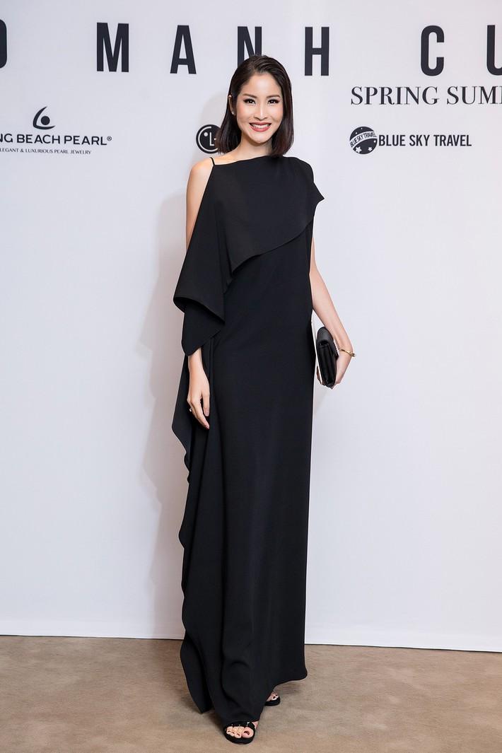 Hà Tăng kín cổng cao tường, Đỗ Mỹ Linh, HH Tiểu Vy phô diễn vai trần mỹ miều tại show diễn của NTK Đỗ Mạnh Cường tại Úc - Ảnh 8.