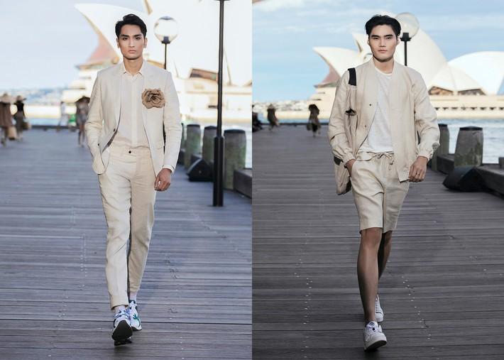 HHen Nie tự tin đọ trình catwalk với 2 siêu mẫu Võ Hoàng Yến và Minh Tú trên sàn diễn của NTK Đỗ Mạnh Cường  - Ảnh 12.