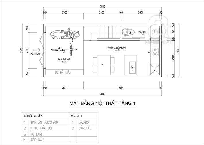 Tư vấn thiết kế nhà 4 tầng cho gia đình trẻ trên mảnh đất có diện tích chưa đến 30m² - Ảnh 1.