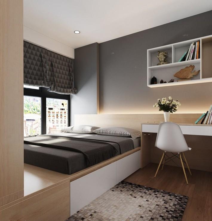 Tư vấn thiết kế nhà 4 tầng cho gia đình trẻ trên mảnh đất có diện tích chưa đến 30m² - Ảnh 12.