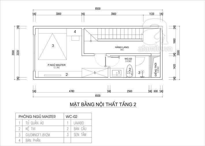 Tư vấn thiết kế nhà 4 tầng cho gia đình trẻ trên mảnh đất có diện tích chưa đến 30m² - Ảnh 3.