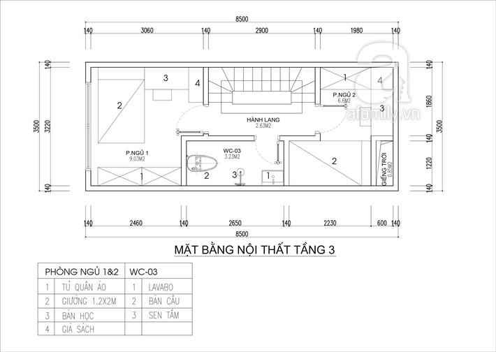 Tư vấn thiết kế nhà 4 tầng cho gia đình trẻ trên mảnh đất có diện tích chưa đến 30m² - Ảnh 4.