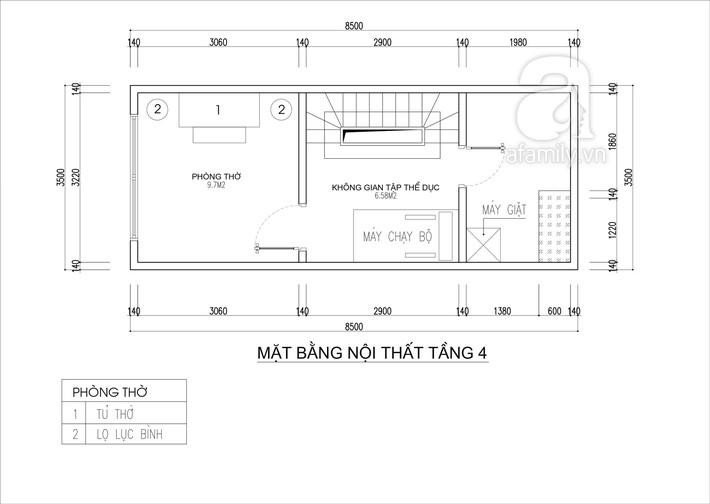 Tư vấn thiết kế nhà 4 tầng cho gia đình trẻ trên mảnh đất có diện tích chưa đến 30m² - Ảnh 5.
