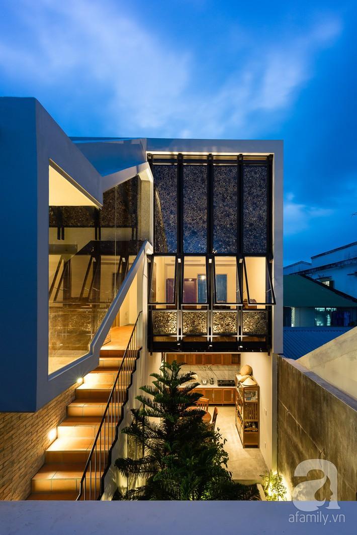Ngôi nhà có tuổi lột xác thành nhà vườn xanh mát của cặp vợ chồng về hưu ở Vĩnh Long - Ảnh 4.