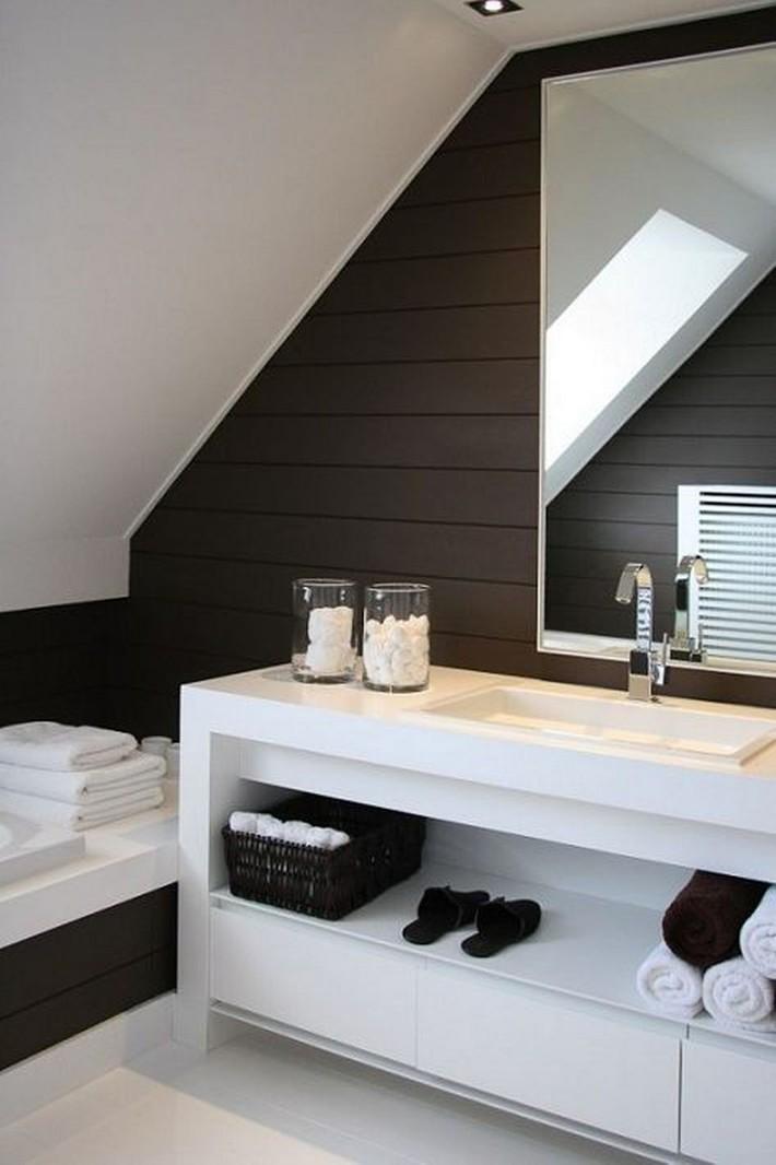 Những ý tưởng thiết kế phòng tắm gác mái siêu tinh tế, cực đẹp mắt - Ảnh 13.