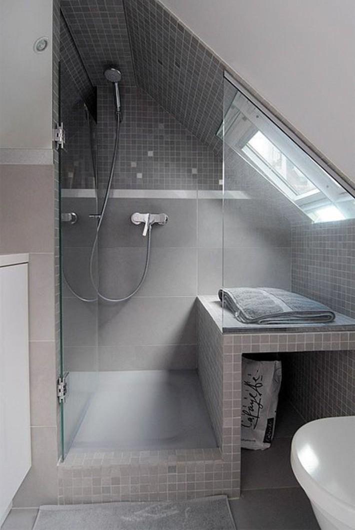 Những ý tưởng thiết kế phòng tắm gác mái siêu tinh tế, cực đẹp mắt - Ảnh 6.
