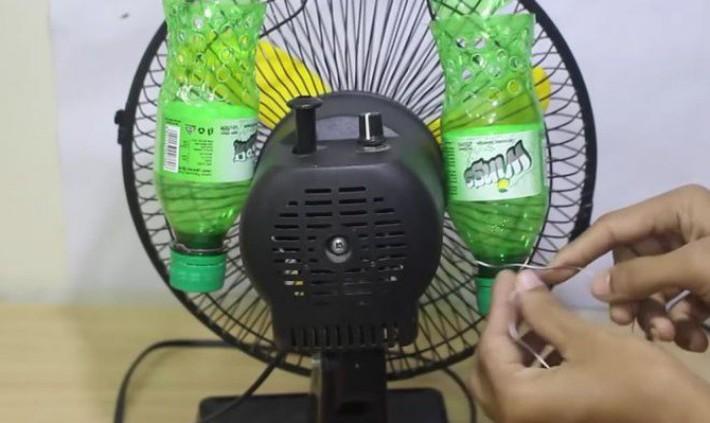 Những cách tuyệt hay tự tạo quạt phun sương đối phó nắng nóng mùa hè có thể giờ bạn mới biết - Ảnh 11.