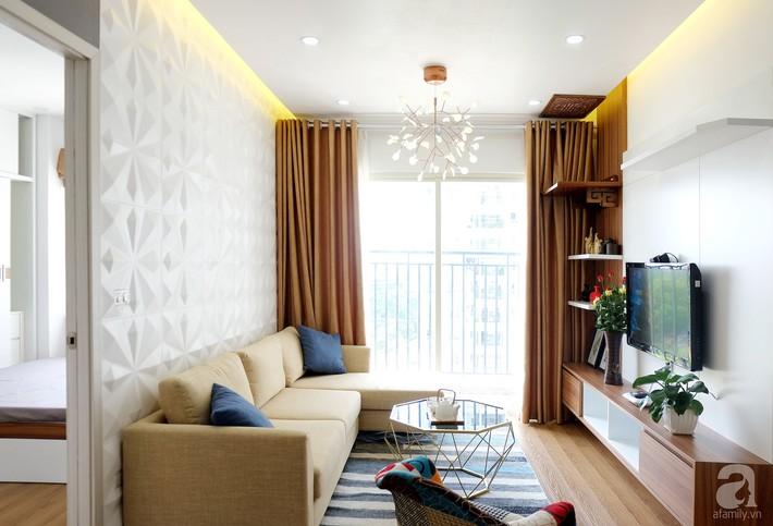 Căn hộ 78m² với 3 phòng ngủ có chi phí thi công 262 triệu đồng ở Long Biên, Hà Nội - Ảnh 4.