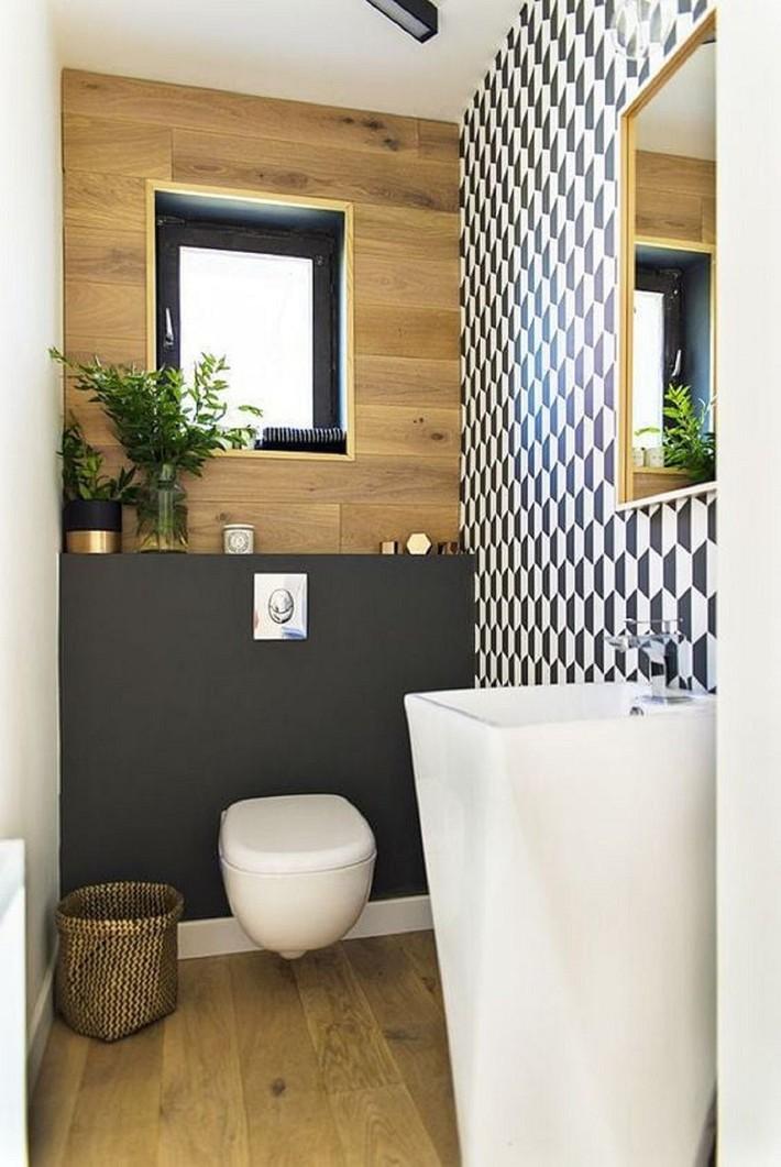 Các ý tưởng tuyệt vời dành cho bạn để truyền nguồn cảm hứng thiết kế một không gian nhà vệ sinh cho khách đẹp-độc-lạ - Ảnh 10.