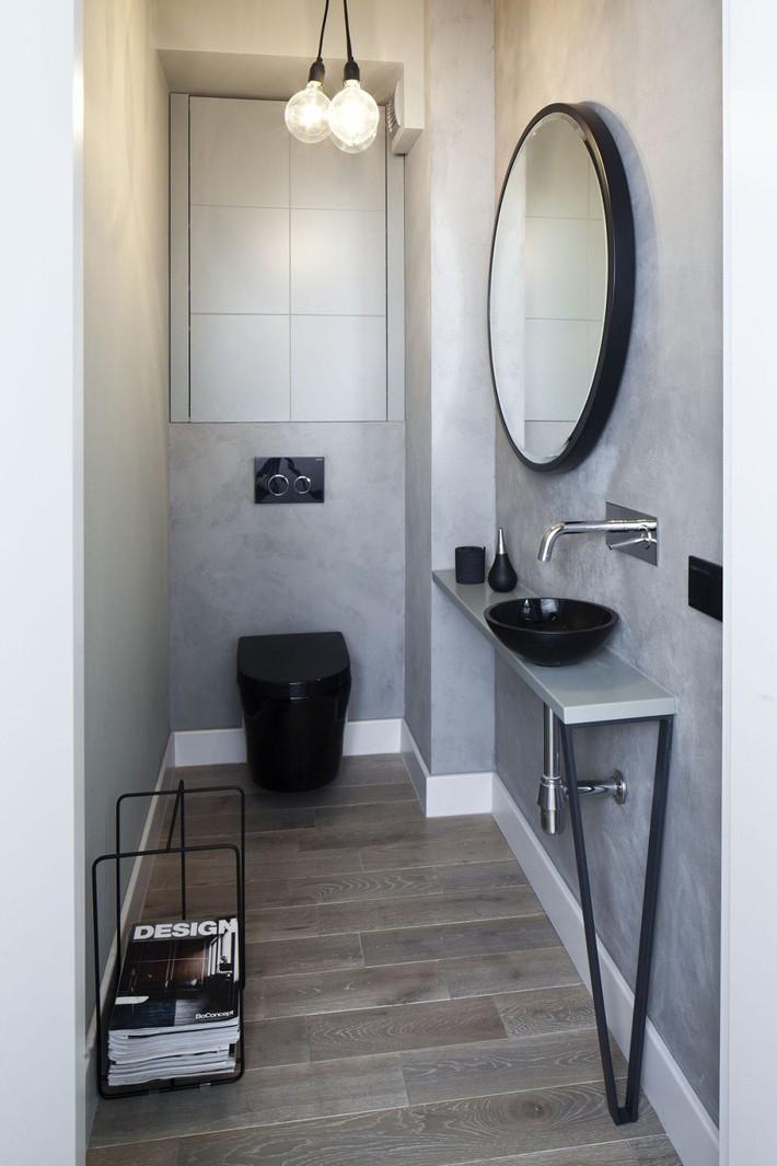 Các ý tưởng tuyệt vời dành cho bạn để truyền nguồn cảm hứng thiết kế một không gian nhà vệ sinh cho khách đẹp-độc-lạ - Ảnh 12.