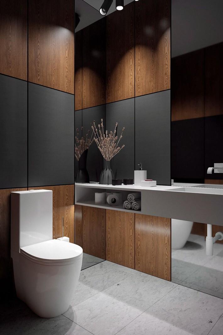Các ý tưởng tuyệt vời dành cho bạn để truyền nguồn cảm hứng thiết kế một không gian nhà vệ sinh cho khách đẹp-độc-lạ - Ảnh 4.