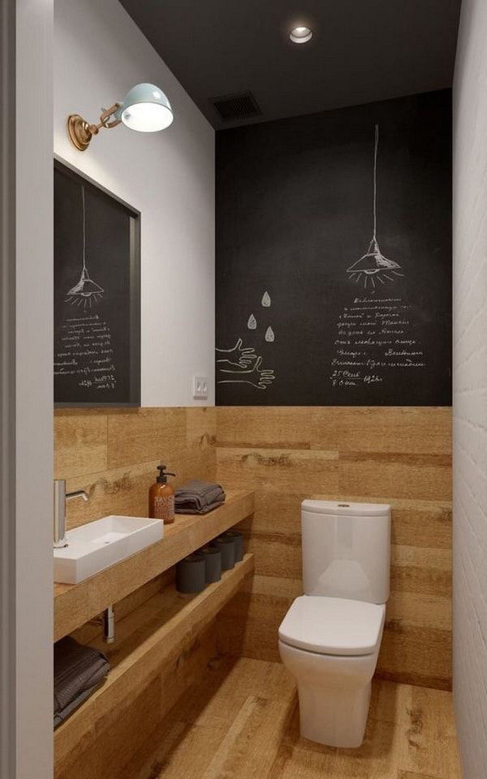 Các ý tưởng tuyệt vời dành cho bạn để truyền nguồn cảm hứng thiết kế một không gian nhà vệ sinh cho khách đẹp-độc-lạ - Ảnh 9.