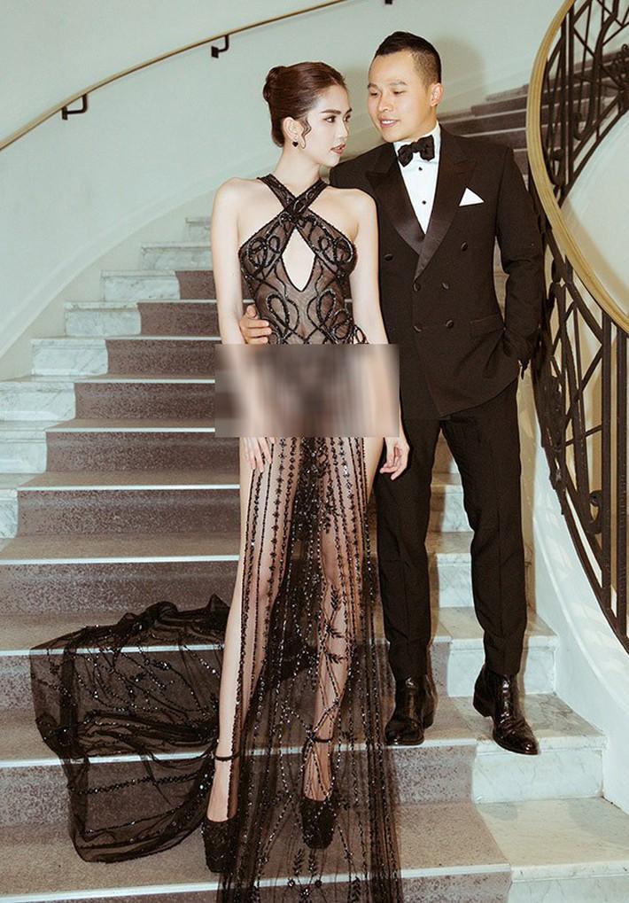 Tiết lộ gây shock từ NTK Đỗ Long: Ngọc Trinh hoàn toàn không mặc nội y trong bộ đồ hở bạo tại Cannes - Ảnh 4.