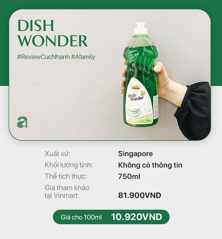 Review cực nhanh nước rửa chén: Có đủ loại và đủ các mức giá chênh lệch đến bất ngờ - Ảnh 10.