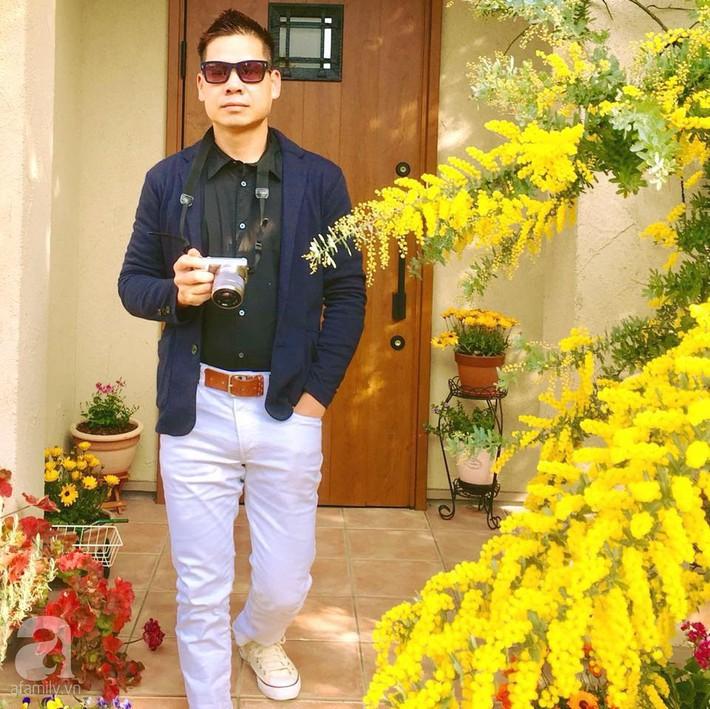 Khu vườn hoa hồng trước nhà đẹp như truyện cổ tích của người đàn ông Việt ở Nhật - Ảnh 5.