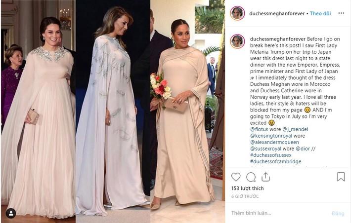 Bà Melania Trump đang cố học theo phong cách Hoàng gia của công nương Kate và Meghan khi tới Nhật Bản? - Ảnh 4.