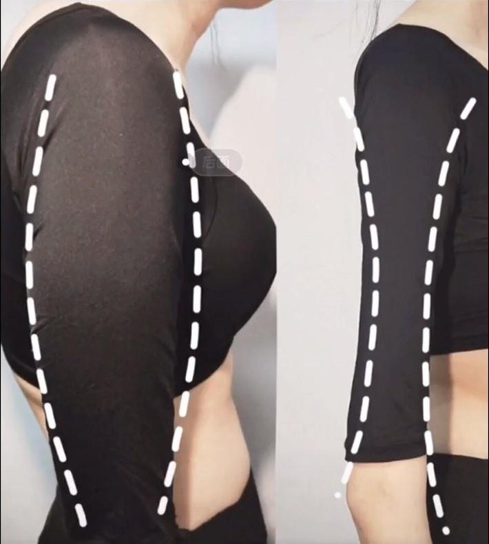 Để tránh lộ bắp tay to như Phạm Băng Băng, đây là bài tập đơn giản mà nhiều cô nàng Trung Quốc áp dụng - Ảnh 2.
