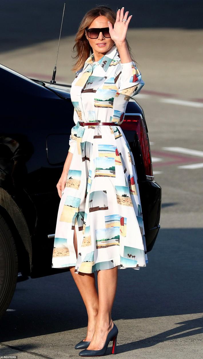 Bà Melania Trump chi gần nửa tỷ đồng trang phục cho chuyến thăm Nhật Bản 4 ngày, biến hóa từ sành điệu đến quý phái - Ảnh 1.