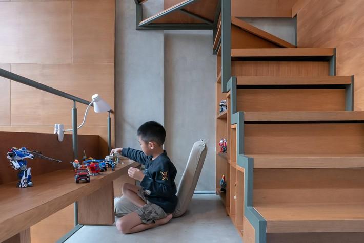 Ngôi nhà siêu mỏng, sâu hun hút vẫn cực tiện nghi cho gia đình trẻ - Ảnh 6.