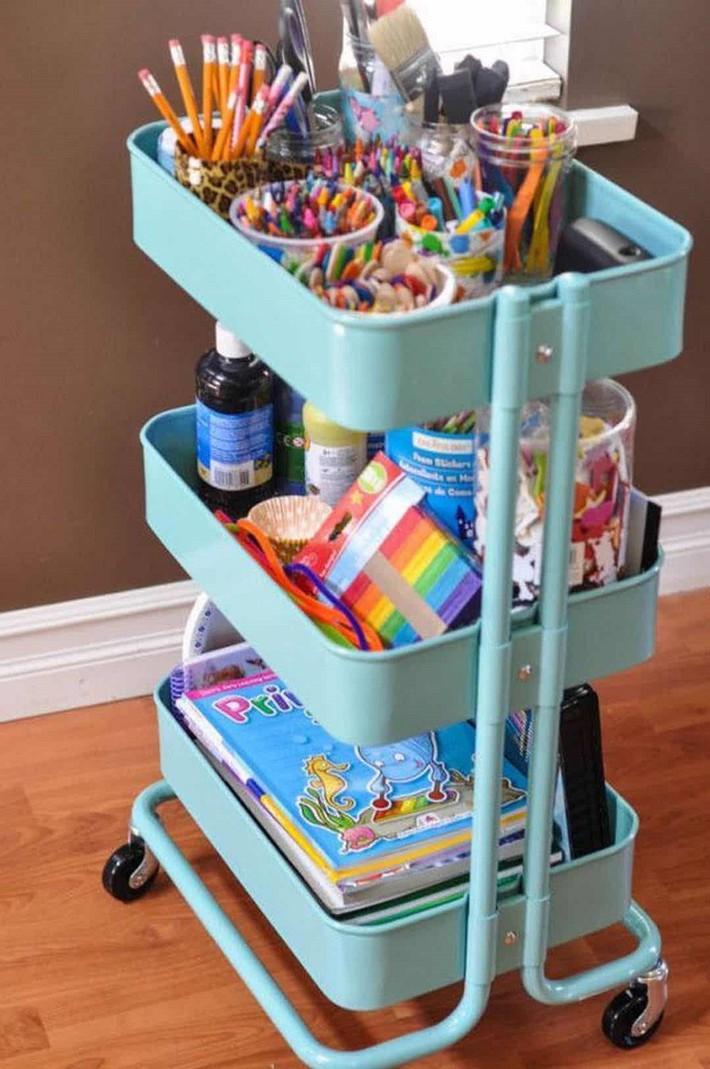 Mách nước cho cha mẹ 11 cách để lưu trữ đồ chơi giúp phòng bé luôn ngăn nắp - Ảnh 8.