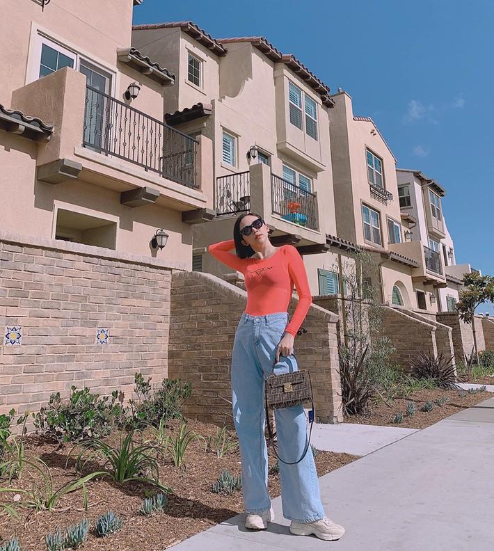 Sau màn xuyên thấu táo bạo, Ngọc Trinh xuống phố với áo phông đọ sắc với bà bầu xinh xắn Diệp Lâm Anh trong street style tuần này - Ảnh 15.