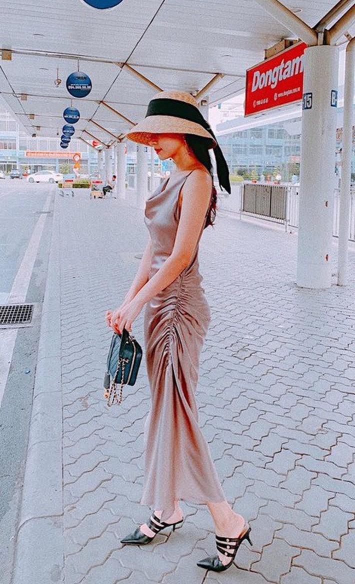 Midu quả là khéo mặc: Một chiếc váy diện đến 6 màu, mix đủ kiểu mà chẳng kiểu nào nhàm - Ảnh 7.