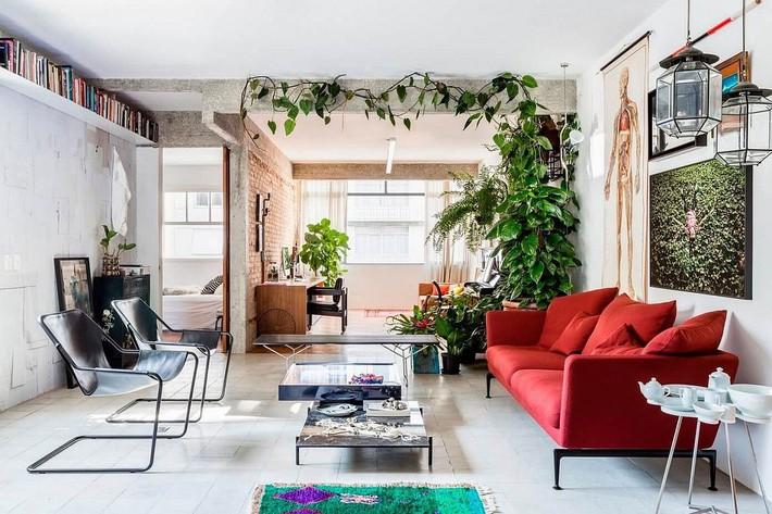 9 mẫu phòng khách là minh chứng hùng hồn cho việc nhỏ vẫn có thể chất như thường - Ảnh 1.