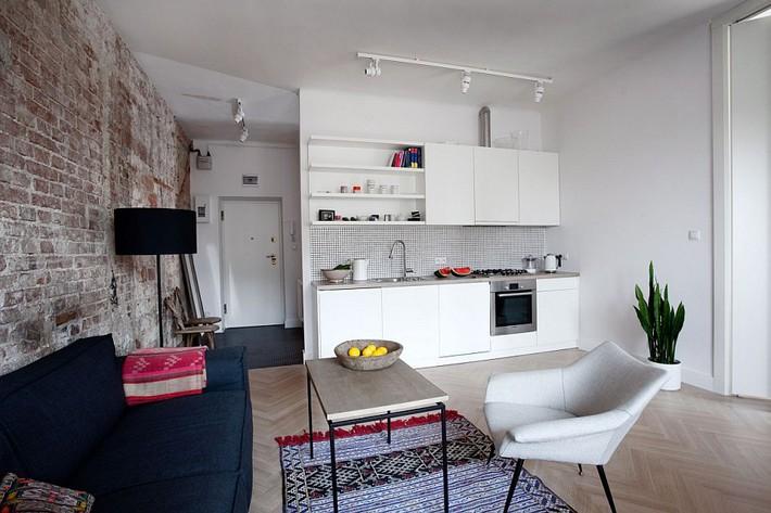 9 mẫu phòng khách là minh chứng hùng hồn cho việc nhỏ vẫn có thể chất như thường - Ảnh 6.