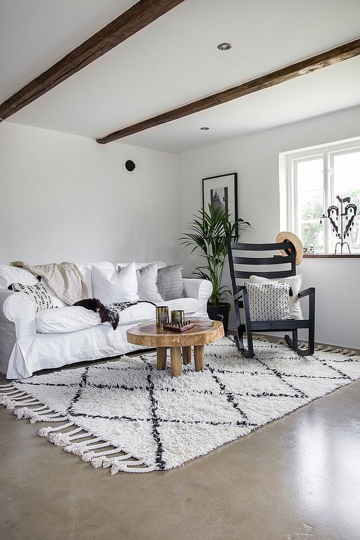 9 mẫu phòng khách là minh chứng hùng hồn cho việc nhỏ vẫn có thể chất như thường - Ảnh 9.