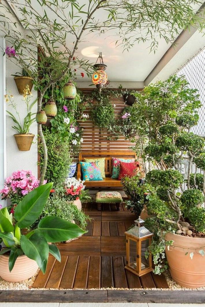 Gợi ý tạo vườn xanh ở ban công với những vật liệu thân thiện với môi trường bất chấp diện tích lớn nhỏ - Ảnh 2.