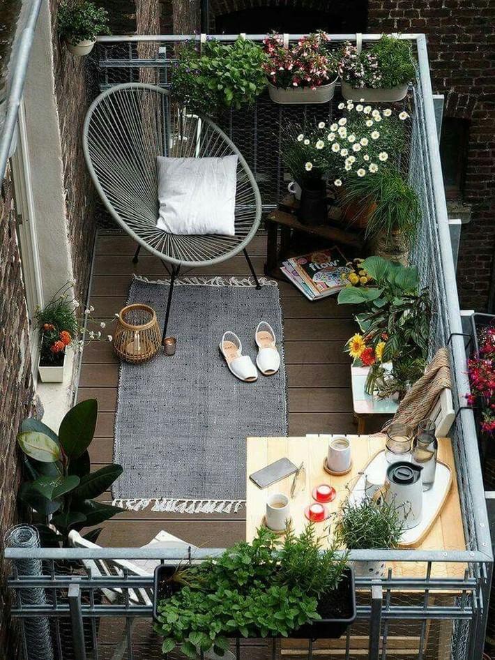 Gợi ý tạo vườn xanh ở ban công với những vật liệu thân thiện với môi trường bất chấp diện tích lớn nhỏ - Ảnh 8.