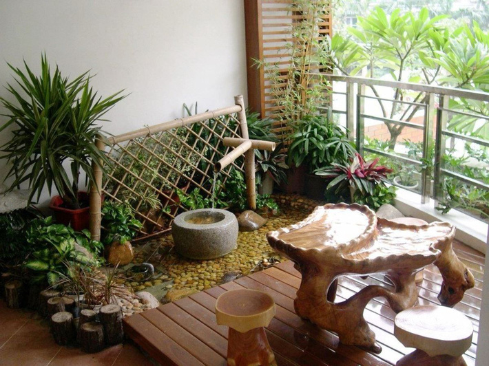 Gợi ý tạo vườn xanh ở ban công với những vật liệu thân thiện với môi trường bất chấp diện tích lớn nhỏ - Ảnh 10.