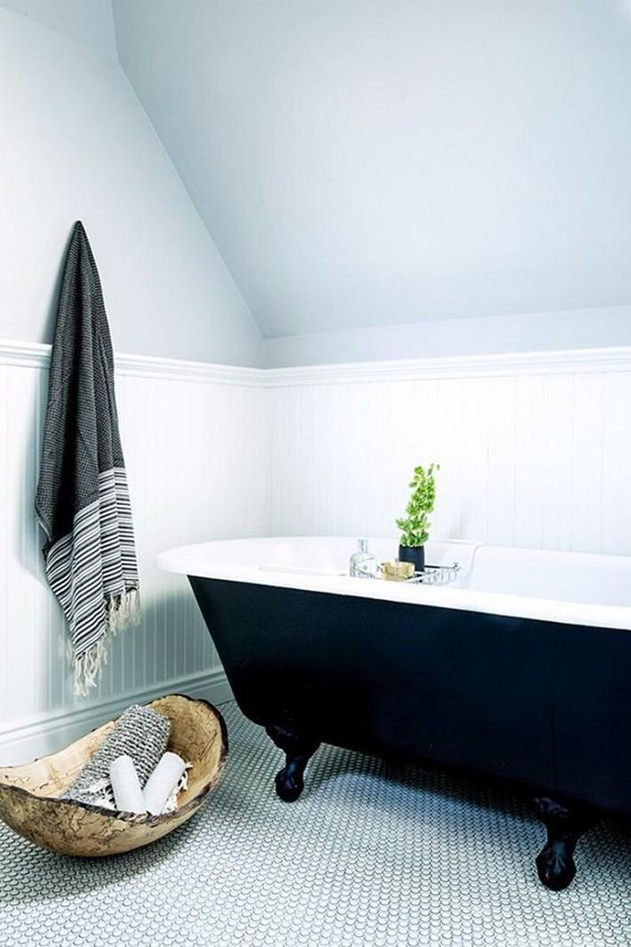 Những thiết kế bồn tắm tinh tế giúp bạn luôn lâng lâng như trong khách sạn - Ảnh 1.